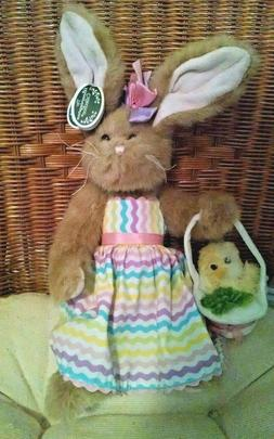 """BEARINGTON COLLECTION Retired """"Heathers And Feathers"""" Ea"""