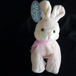 "Amscan Cuddle Club Floppy Bunny Rabbit 9"" Plush Pink Stuffed"