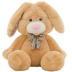 "Cuddly Giant Huge Easter Bunny Beige Rabbit Doll 24 "" Soft B"