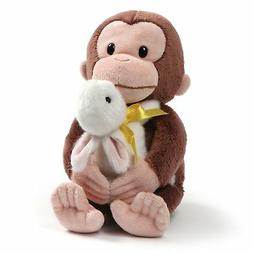 GUND Curious George with Bunny Stuffed Animal Plush, 10""