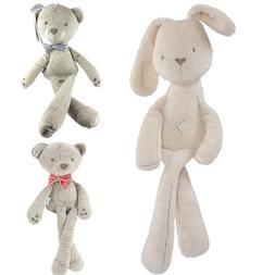 Cute Baby <font><b>Plush</b></font> Rabbit Doll Soft Stuffed