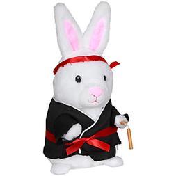 Dancing Easter Kung Fu Fighting Bunny