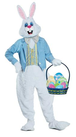 Deluxe Easter Bunny Mascot Adult Costume