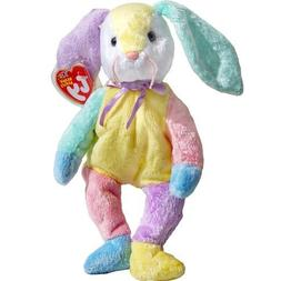 Dippy the Patchwork Easter Bunny Rabbit - Ty Beanie Babies b