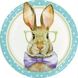 Dressed For Easter Bunny 9 Inch Paper Plates 8 Per Pack East