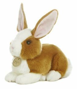 "10"" Dutch Bunny Rabbit Miyoni Brown White Aurora Plush Stuff"