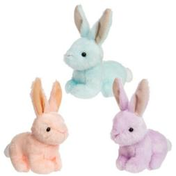 "Mary Meyer E0 Easter Neat Petites Bunnies 4"" Plush Toys 3-pi"