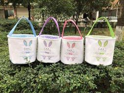 Easter Basket, Easter Bucket Bunny Easter Basket, Top Seller