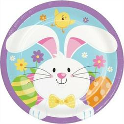 Easter Bunny 7 Inch Paper Plates 8 Per Pack Easter Decoratio