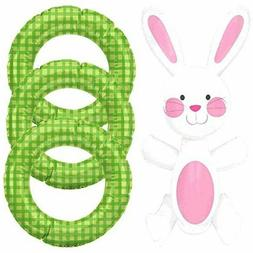 Amscan Easter Bunny Inflatable Ring Toss Games