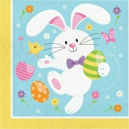 Easter Bunny Lunch Napkins 16 Per Pack Easter Decoration