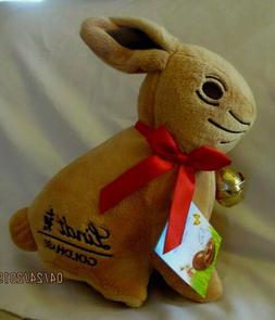 Easter Bunny Plush Rabbit Stuffed Animal Plush Purse Gold Li