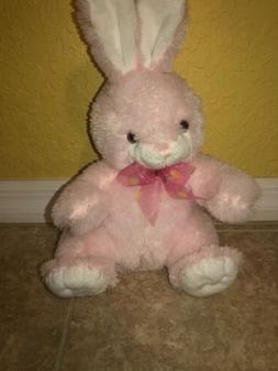 "Easter Bunny Plush Stuffed Animal Kids Toy 15"" Pink Novelty"