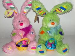EASTER BUNNY PLUSH TOY 15 INCH SITTING NEW SUPER SOFT SPRING