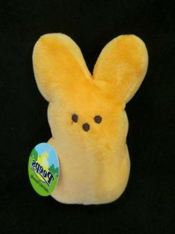 PEEPS EASTER BUNNY PLUSH TOY ORANGE BRAND NEW WITH DEFECT