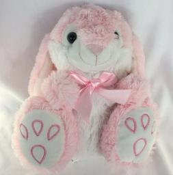 Easter Bunny Plush Toy Pink NWT Best Made Toys Stuffed Rabbi