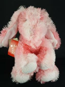 Easter Bunny Rabbit Beverly Hills Teddy Bear Co Pink Plush S