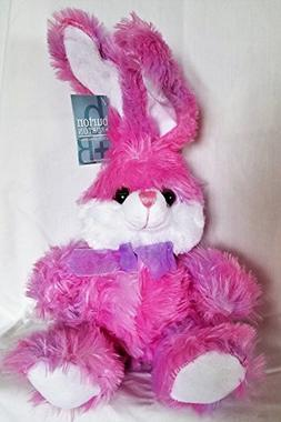 BnB Rainbow Bunny Rabbit Stuffed Animal Super Soft Plush Fig
