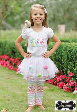 Mud Pie Easter Bunny Skirt Set  0-6M, 6-9M - DISCONTINUED