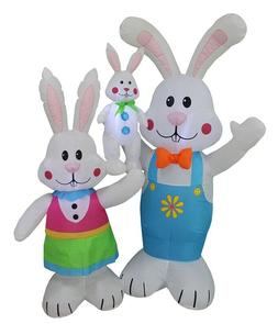 Easter Bunny Yard Inflatable Outdoor Airblown Decoration Eas