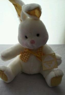 Hallmark Easter Bunny Yellow Spring Sunnyside Plush New with