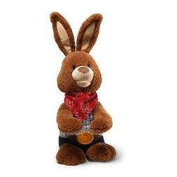 "Easter Cotton Eye Joe Bunny Animated 10"" Plush"