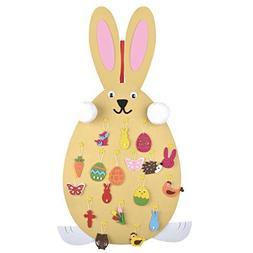 Coxeer Easter Cute Rabbit Handmade Craft Kit Bunny Craft Orn