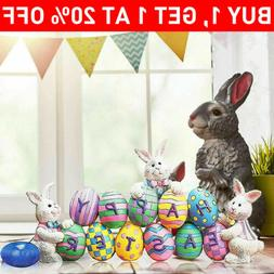 Easter Decoration Bunny Spring Decor Easter Eggs Lazer Cut F