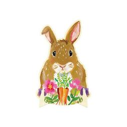 EASTER Floral Bunny STAND-UP CENTERPIECE ~ Birthday Party Su