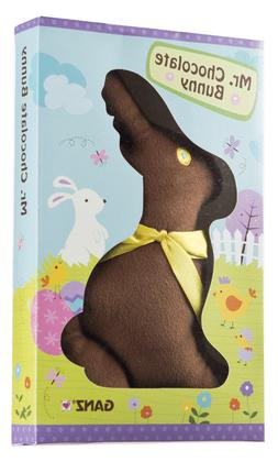 Easter Mr. Chocolate Bunny Plush from Ganz  NEW!