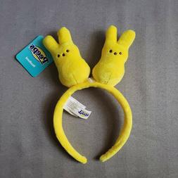 Easter Peeps Yellow Plush Bunny Headband