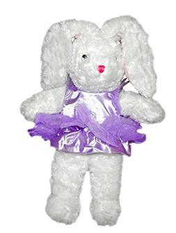 Easter Purple Ballerina Bunny Plush, 21 Inches
