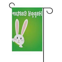ALAZA Easter Rabbit Bunny Decorative Garden Flag 12 x 18 inc