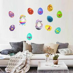 Easter Removable Bunny Egg Wall Sticker Kids Living Room Bed