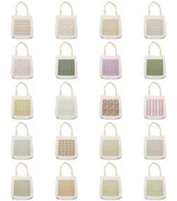 easter theme tote bag reusable linen sack