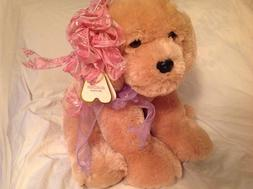 """Aurora Golden Retriever Dog Plush Goldie 13 1/2"""" tall #50092"""