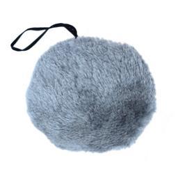 Gray Plush Bunny Tail Animal Costume Accessory ~ HALLOWEEN E