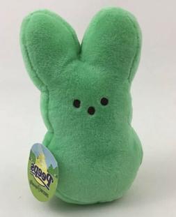 "New Green Peeps Plush 6"" Bunny Easter Rabbit Stuffed Animal"