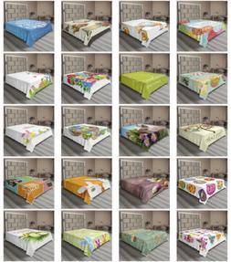 Ambesonne Happy Easter Flat Sheet Top Sheet Decorative Beddi