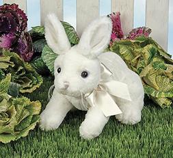 Bearington Hopi White Easter Bunny Rabbitt Plush Stuffed Ani
