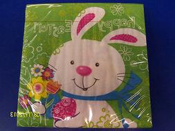 Hoppy Bunny Easter Rabbit White Cute Theme Holiday Party Pap