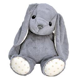 Cloud b Dreamy Hugginz Grey Bunny Plush Stuffed Animal
