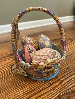 "Jim Shore ""Hunny Bunny"" Easter Basket"