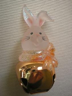 Jingle Buddies  -- Easter Rabbit Bunny Peach Christmas Tree