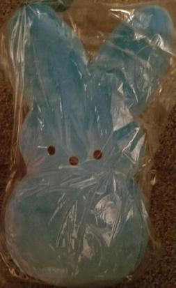 "Just Born Peeps Plush Bunny Rabbit Large 16"" Blue Stuffed An"