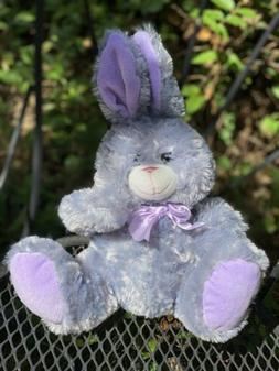 Kellytoy Bunny Rabbit Gray Plush stuffed animal grey toy stu