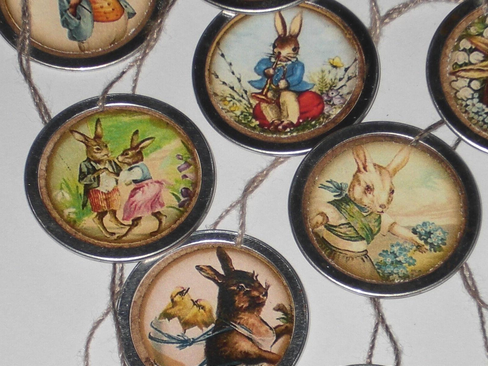 10 Assorted Easter Ornaments