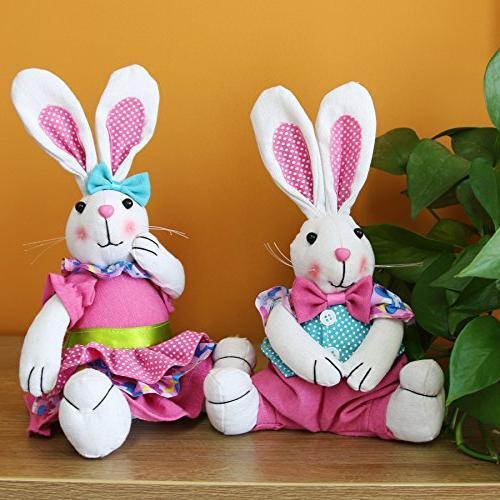 WEWILL Rabbit Animal Doll
