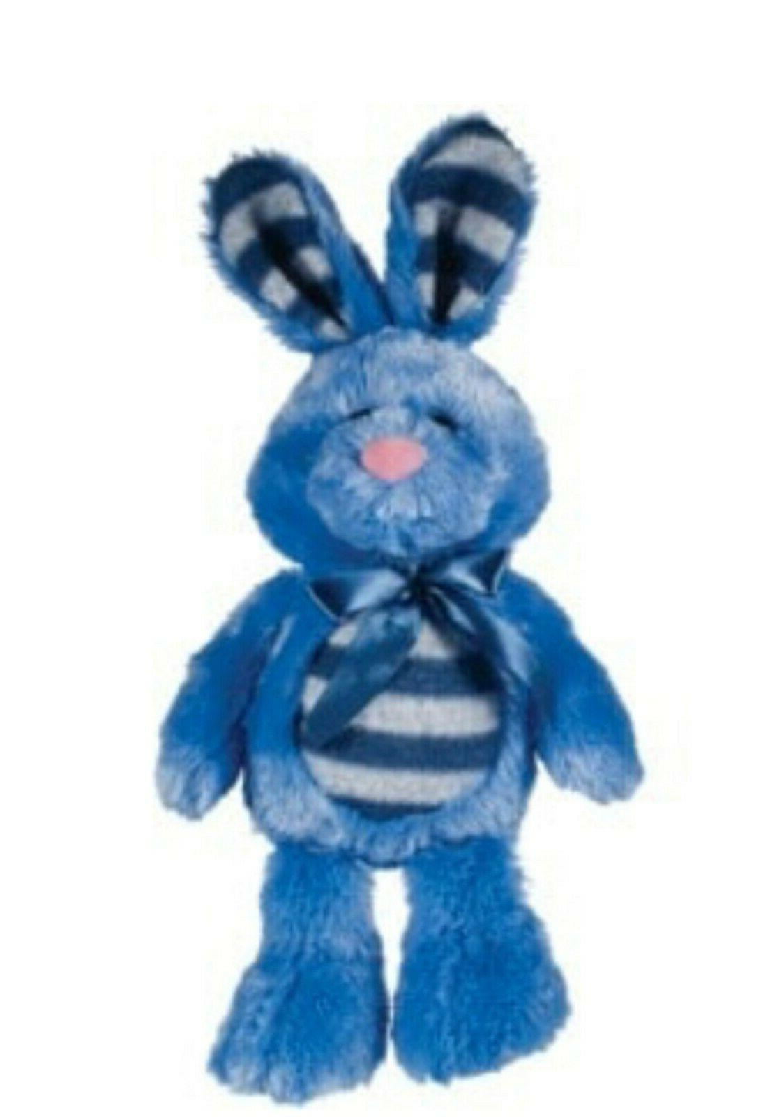 "14"" DanDee Rabbit Plush Toy Blue"