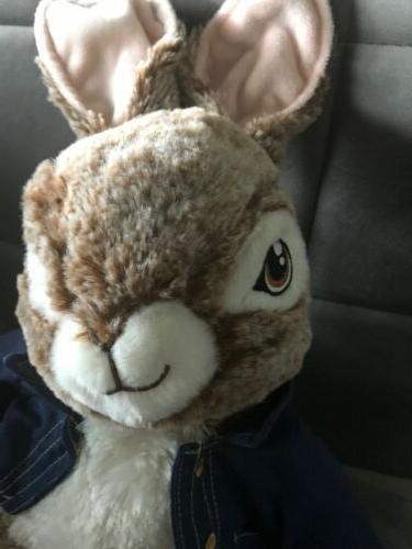 """16"""" Rabbit Plush 2018 Movie Bunny"""